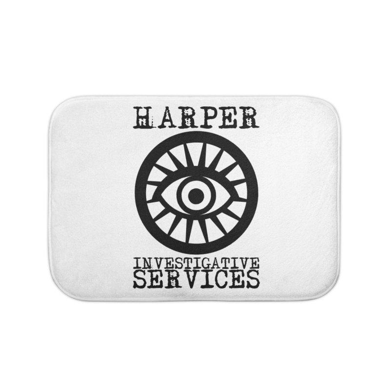 Harper Investigative Services (Light) Home Bath Mat by danburley's Artist Shop