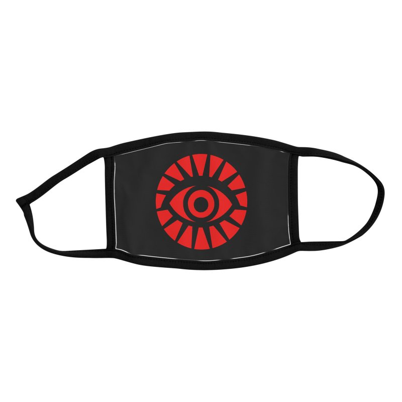 All-Seeing Eye (Red) Accessories Face Mask by danburley's Artist Shop