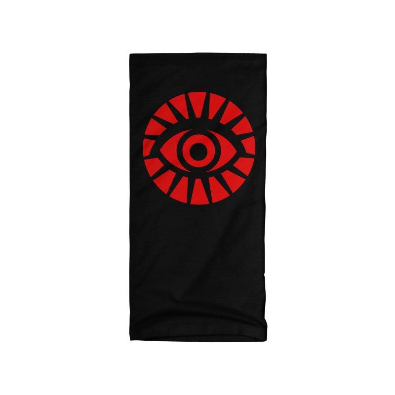 All-Seeing Eye (Red) Accessories Neck Gaiter by danburley's Artist Shop