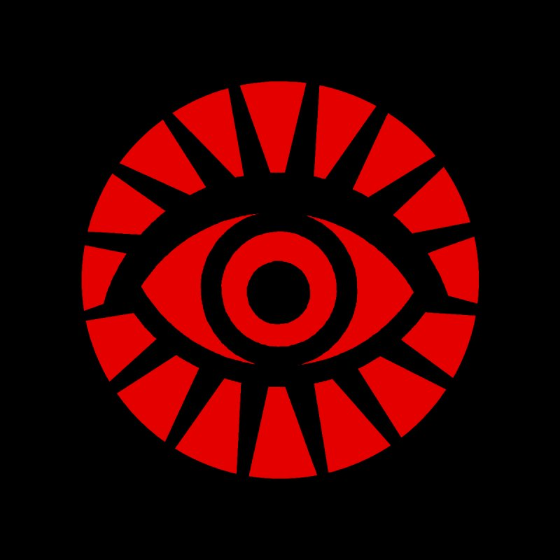 All-Seeing Eye (Red) Men's T-Shirt by danburley's Artist Shop