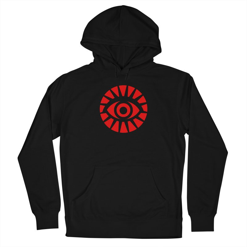 All-Seeing Eye (Red) Women's Pullover Hoody by danburley's Artist Shop