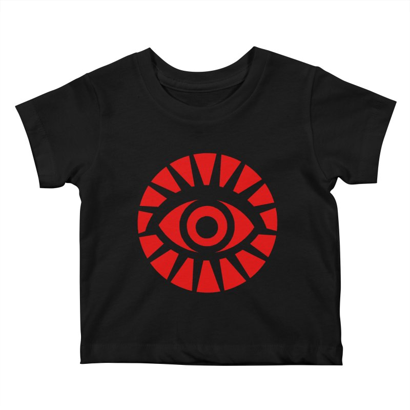 All-Seeing Eye (Red) Kids Baby T-Shirt by danburley's Artist Shop