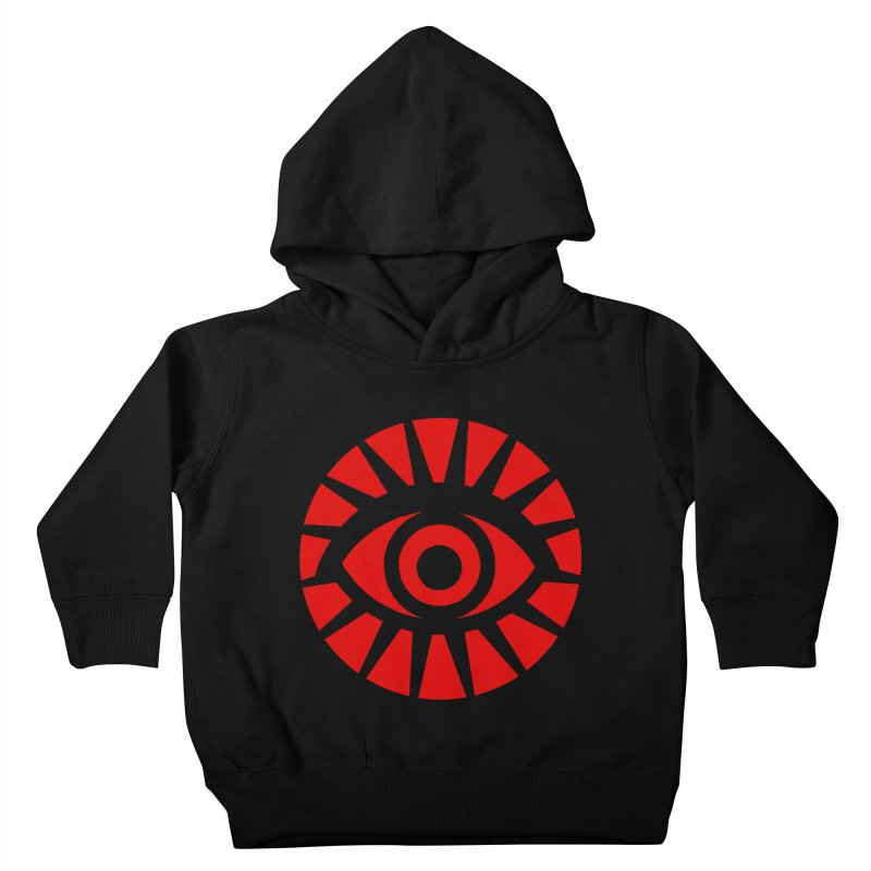 All-Seeing Eye (Red) Kids Toddler Pullover Hoody by danburley's Artist Shop