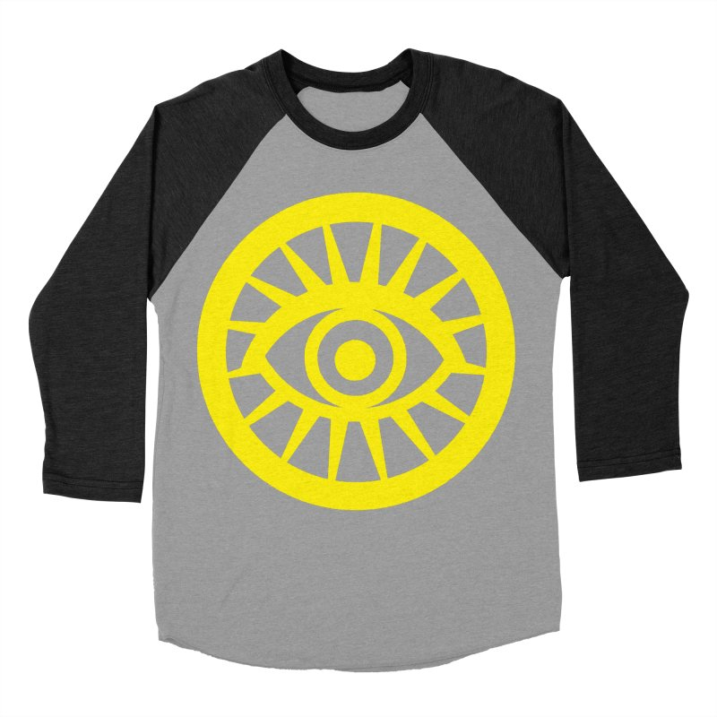 Robyn's Eye Men's Baseball Triblend Longsleeve T-Shirt by danburley's Artist Shop