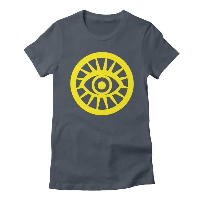 Robyn's Eye Women's Fitted T-Shirt by danburley's Artist Shop