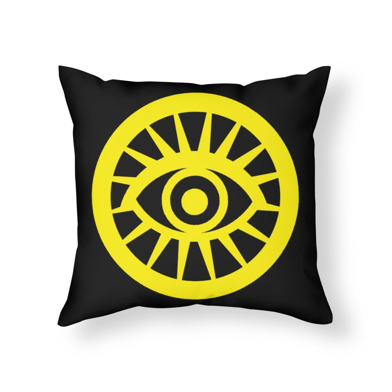 Robyn's Eye Home Throw Pillow by danburley's Artist Shop