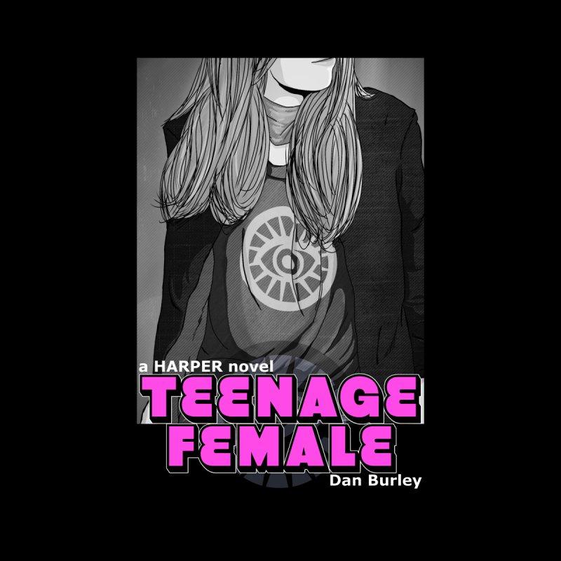 Teenage Female (Noir) by danburley's Artist Shop