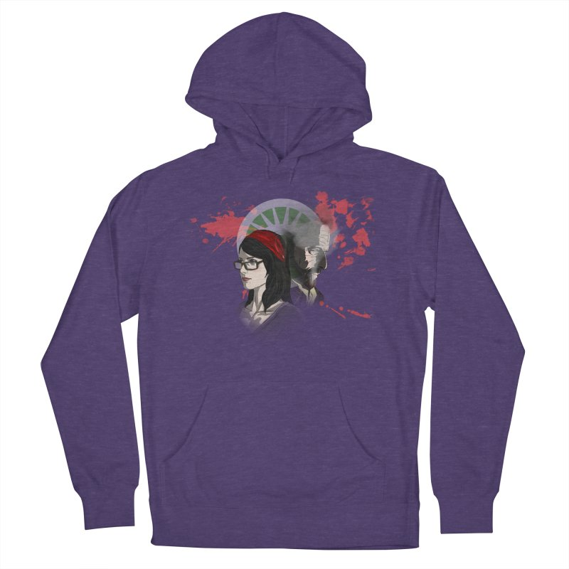 Among The Dirt and Bones Women's French Terry Pullover Hoody by danburley's Artist Shop