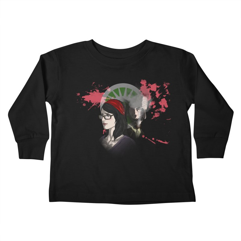 Among The Dirt and Bones Kids Toddler Longsleeve T-Shirt by danburley's Artist Shop