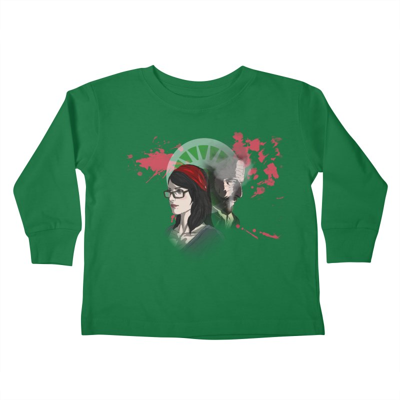 Among The Dirt and Bones Kids Toddler Longsleeve T-Shirt by danburley's Artist Shop