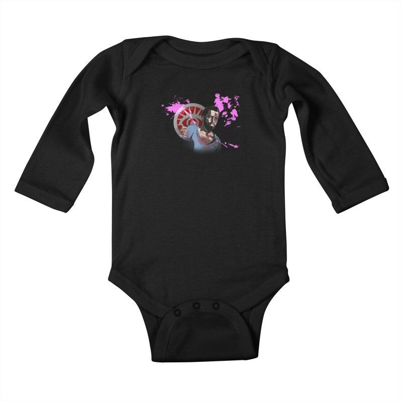 Bully For You Kids Baby Longsleeve Bodysuit by danburley's Artist Shop