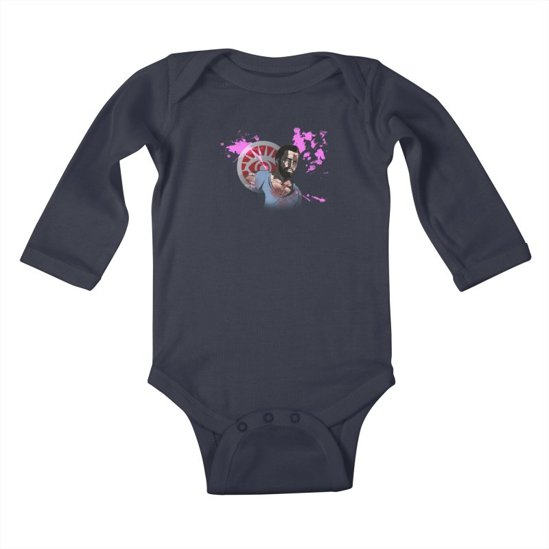 Bully For You Kids Baby Longsleeve Bodysuit by danburley's Artist Shop