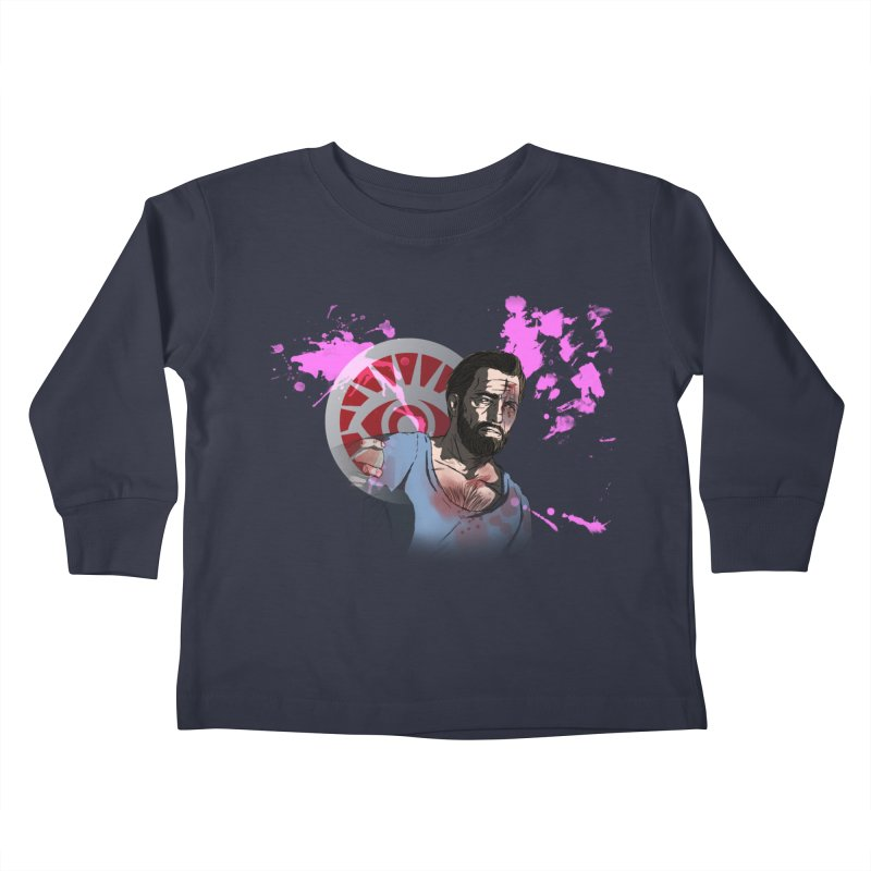 Bully For You Kids Toddler Longsleeve T-Shirt by danburley's Artist Shop