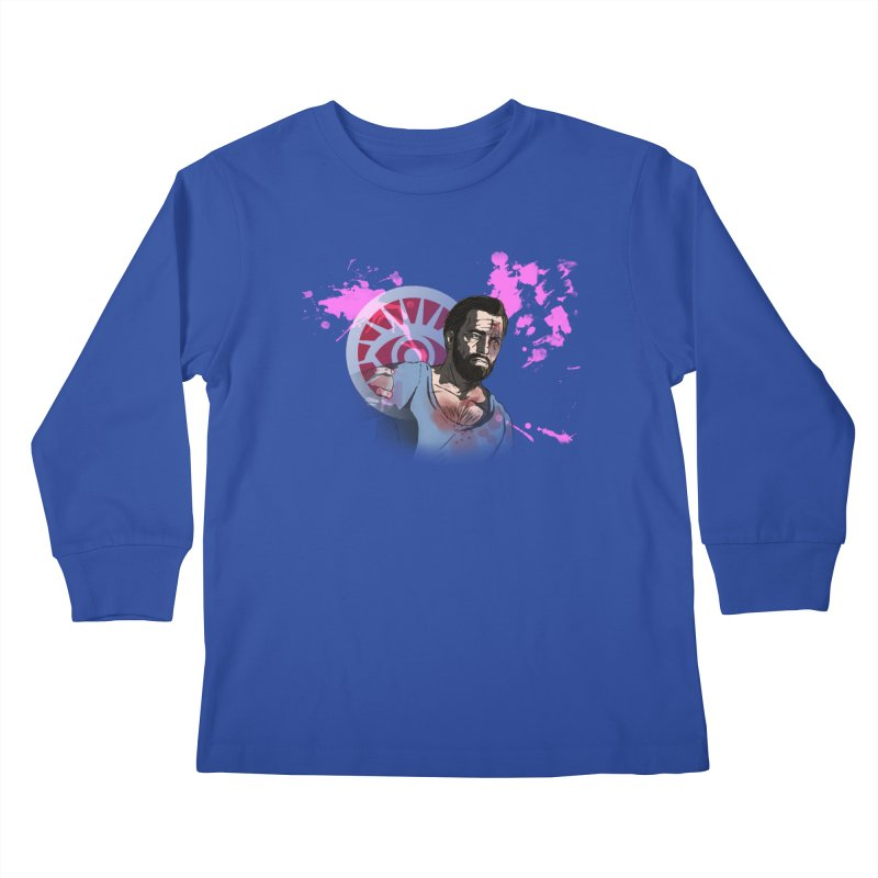 Bully For You Kids Longsleeve T-Shirt by danburley's Artist Shop