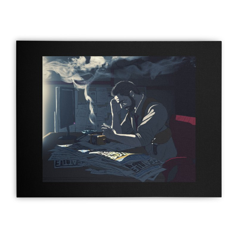 Sense of Doubt Home Stretched Canvas by danburley's Artist Shop