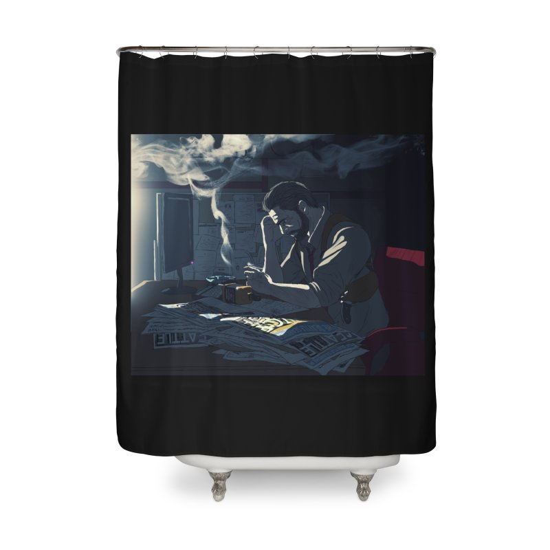 Sense of Doubt Home Shower Curtain by danburley's Artist Shop