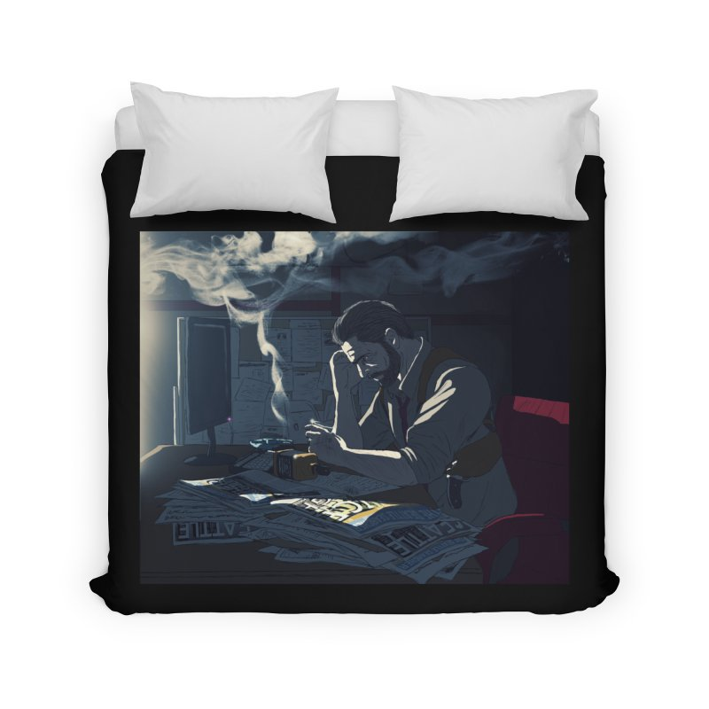 Sense of Doubt Home Duvet by danburley's Artist Shop