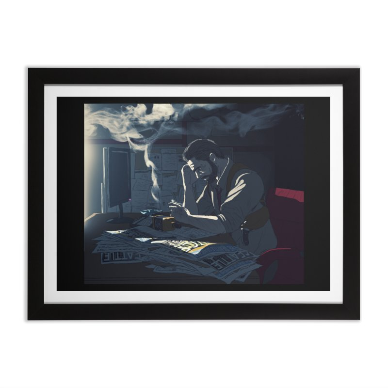 Sense of Doubt Home Framed Fine Art Print by danburley's Artist Shop