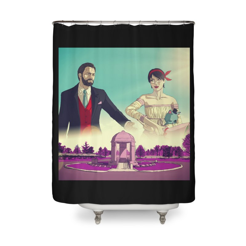 Purple Haze Home Shower Curtain by danburley's Artist Shop
