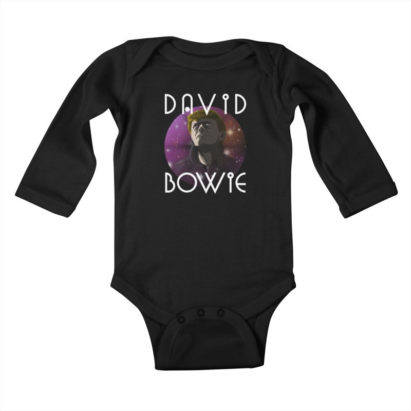 Waiting in the Sky Kids Baby Longsleeve Bodysuit by danburley's Artist Shop