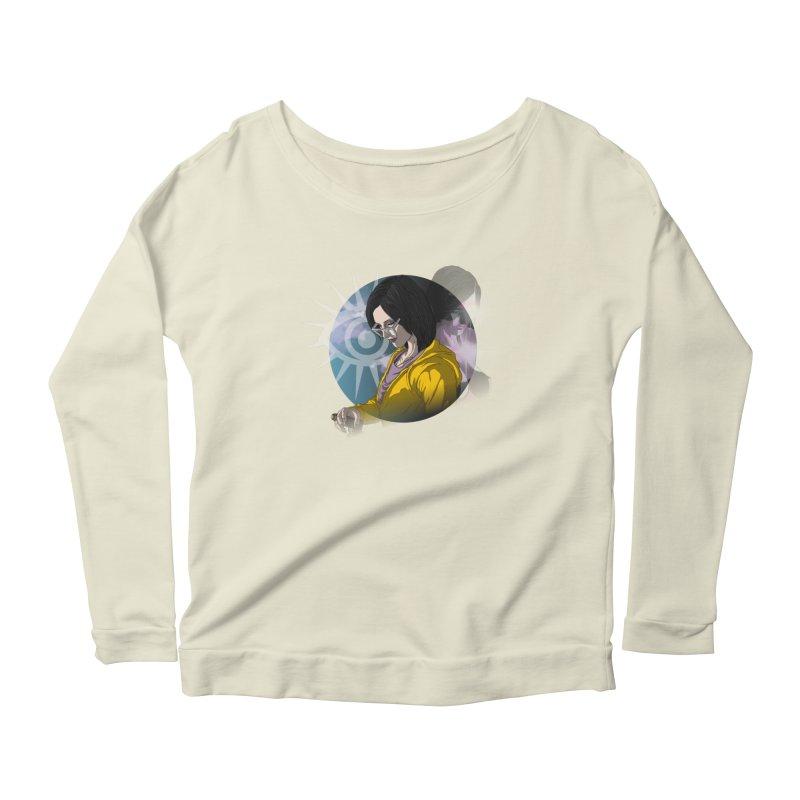 Maryanne Harper Women's Scoop Neck Longsleeve T-Shirt by danburley's Artist Shop