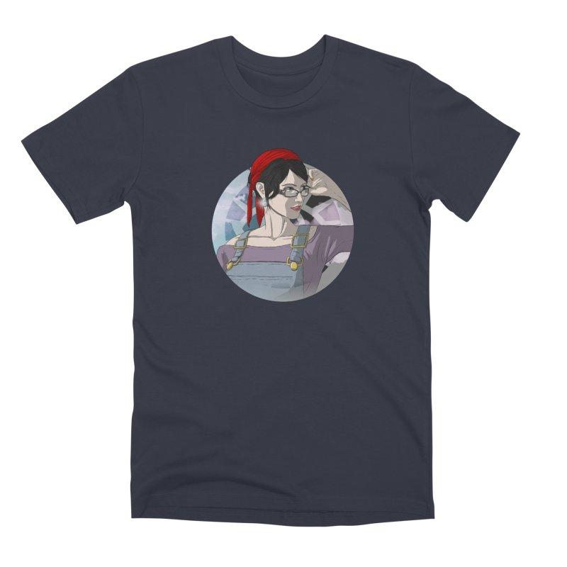 Elizabeth Harper-Baxter Men's Premium T-Shirt by danburley's Artist Shop