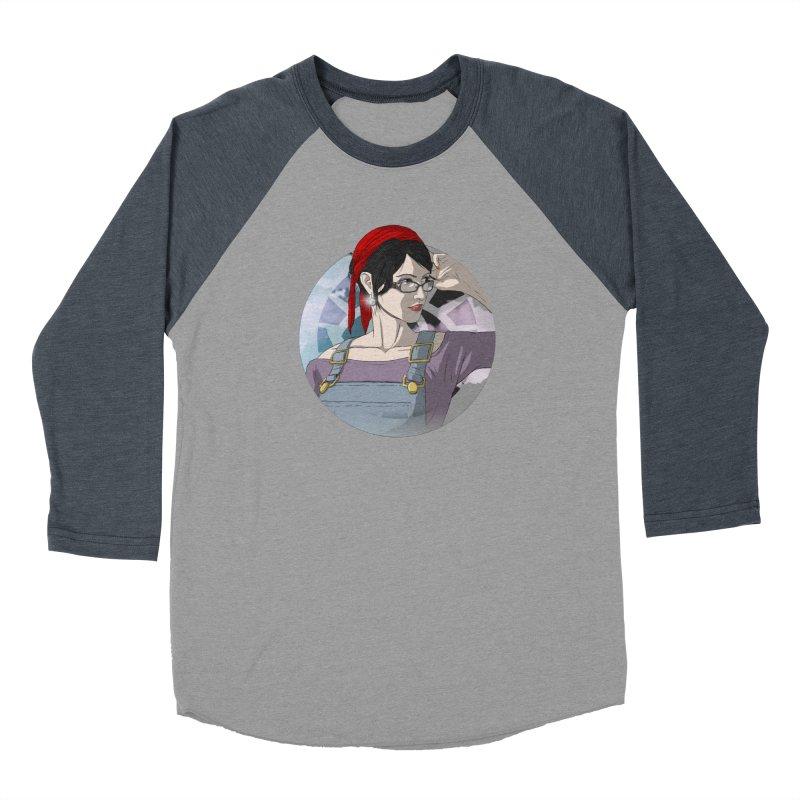 Elizabeth Harper-Baxter Men's Baseball Triblend Longsleeve T-Shirt by danburley's Artist Shop