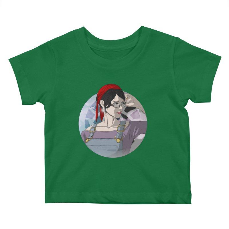 Elizabeth Harper-Baxter Kids Baby T-Shirt by danburley's Artist Shop