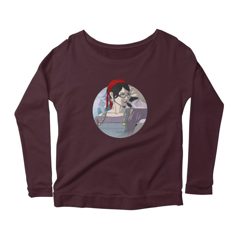 Elizabeth Harper-Baxter Women's Scoop Neck Longsleeve T-Shirt by danburley's Artist Shop