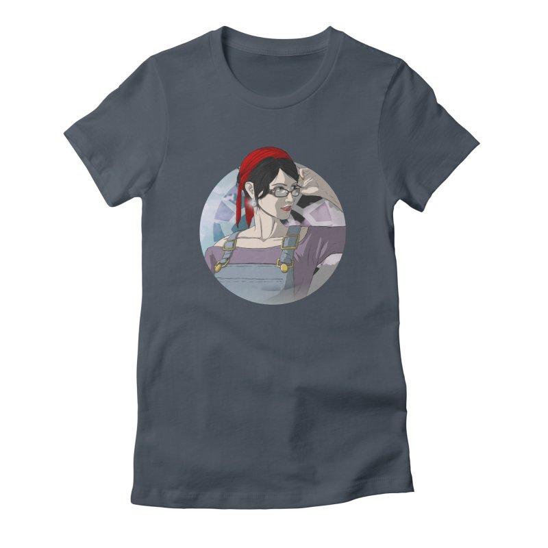 Elizabeth Harper-Baxter Women's Fitted T-Shirt by danburley's Artist Shop