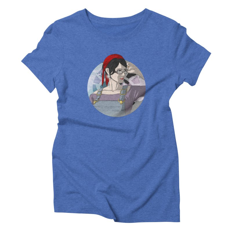 Elizabeth Harper-Baxter Women's Triblend T-Shirt by danburley's Artist Shop