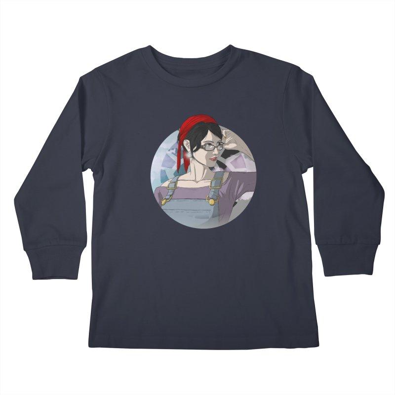 Elizabeth Harper-Baxter Kids Longsleeve T-Shirt by danburley's Artist Shop