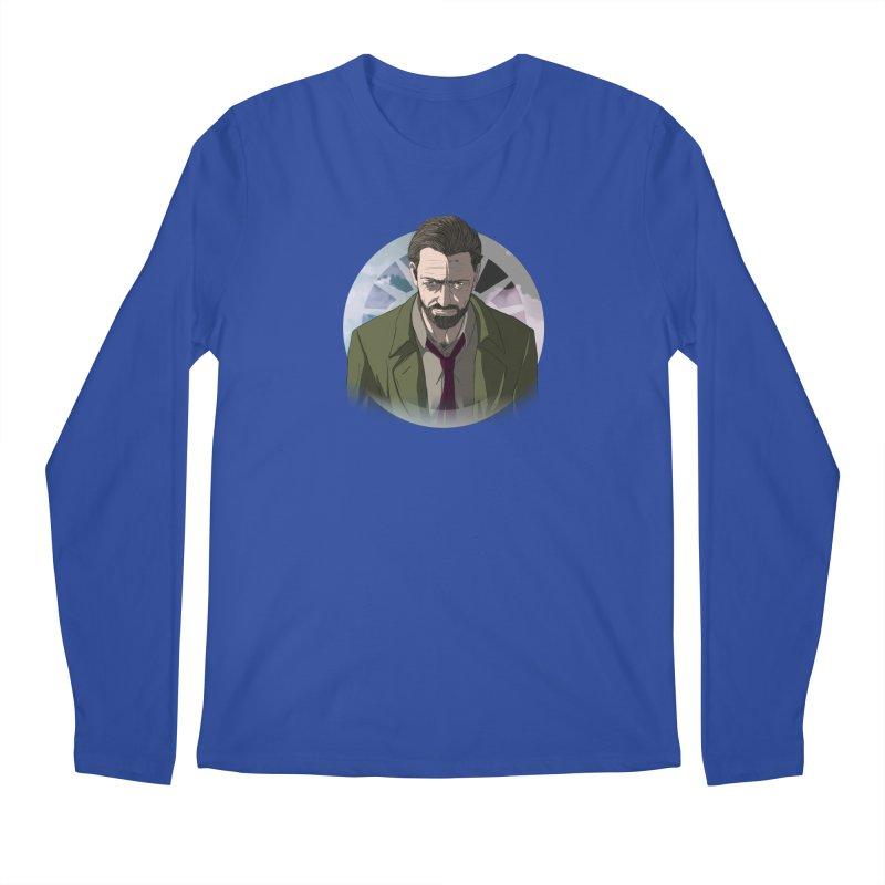 Reggie Harper Men's Regular Longsleeve T-Shirt by danburley's Artist Shop