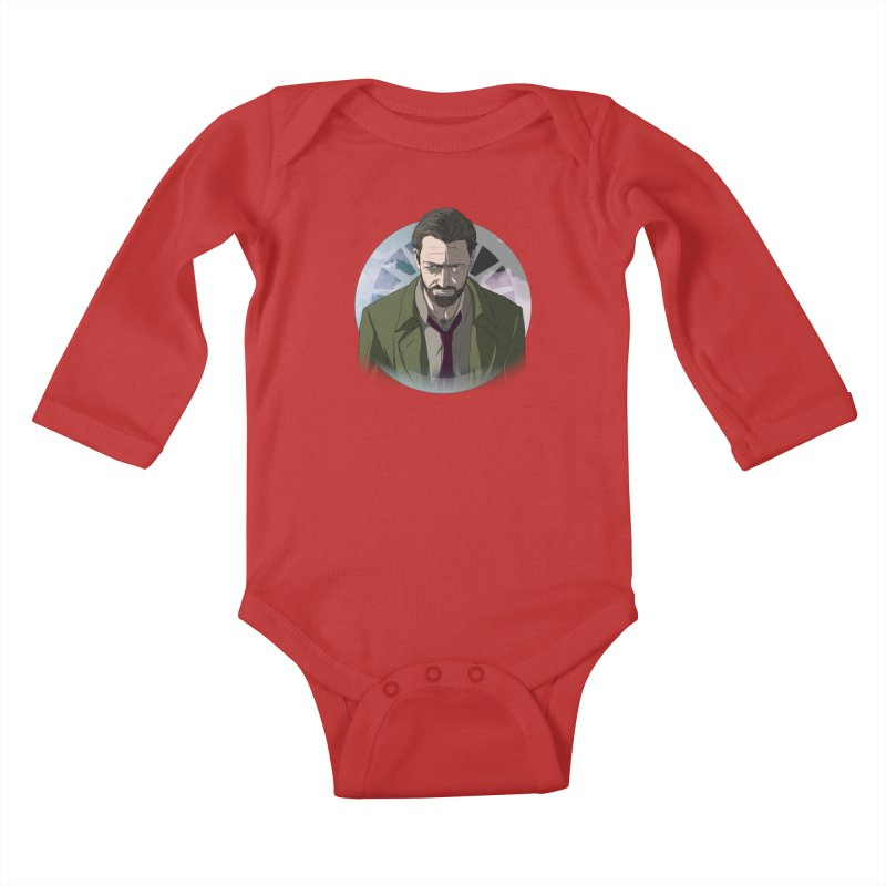 Reggie Harper Kids Baby Longsleeve Bodysuit by danburley's Artist Shop