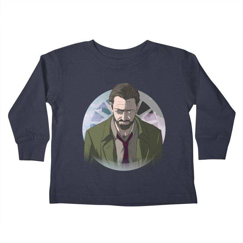 Reggie Harper Kids Toddler Longsleeve T-Shirt by danburley's Artist Shop