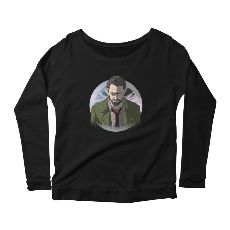 Reggie Harper Women's Scoop Neck Longsleeve T-Shirt by danburley's Artist Shop
