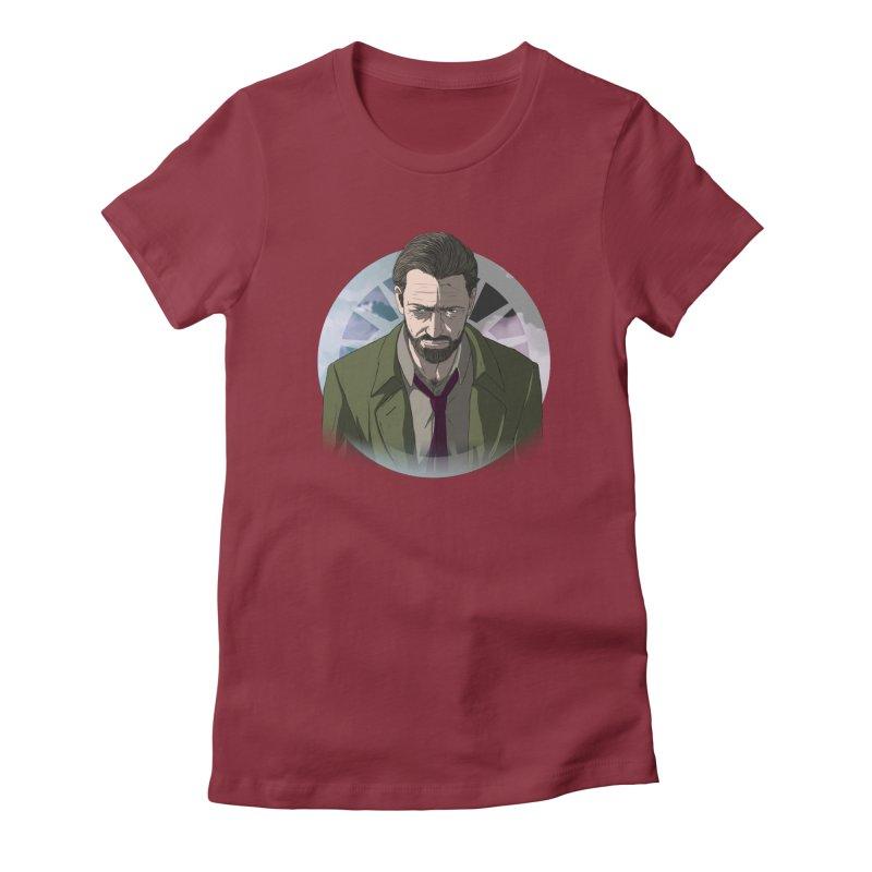 Reggie Harper Women's Fitted T-Shirt by danburley's Artist Shop