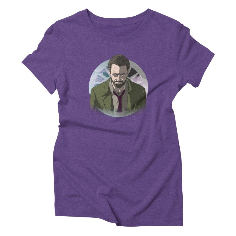 Reggie Harper Women's Triblend T-Shirt by danburley's Artist Shop
