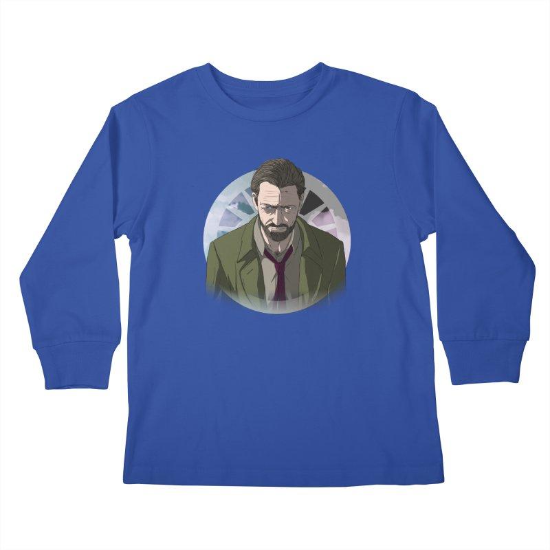 Reggie Harper Kids Longsleeve T-Shirt by danburley's Artist Shop