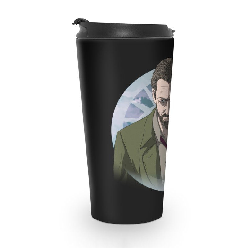 Reggie Harper Accessories Travel Mug by danburley's Artist Shop