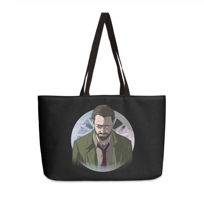 Reggie Harper Accessories Weekender Bag Bag by danburley's Artist Shop