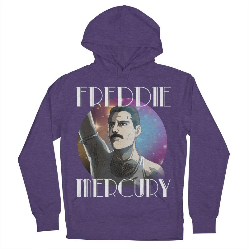 Made In Heaven (Dark) Men's French Terry Pullover Hoody by danburley's Artist Shop