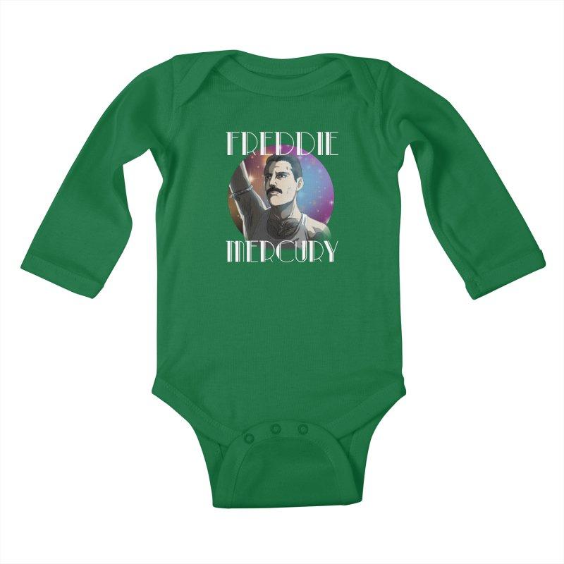 Made In Heaven (Dark) Kids Baby Longsleeve Bodysuit by danburley's Artist Shop