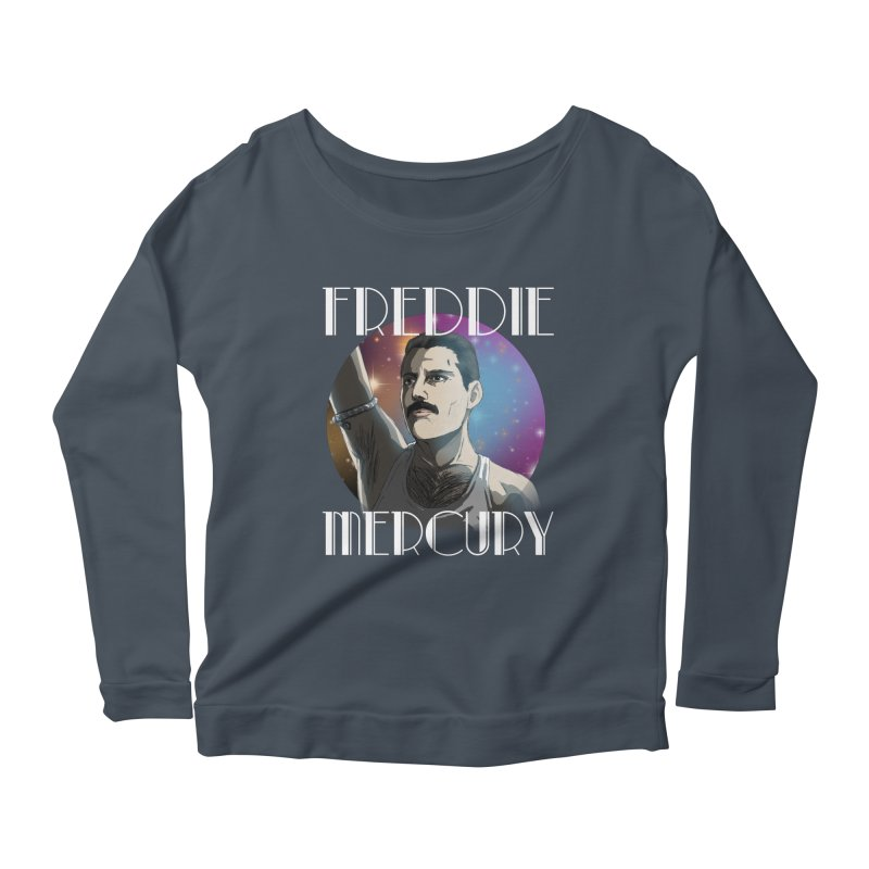 Made In Heaven (Dark) Women's Scoop Neck Longsleeve T-Shirt by danburley's Artist Shop