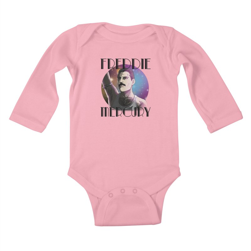 Made In Heaven (Light) Kids Baby Longsleeve Bodysuit by danburley's Artist Shop