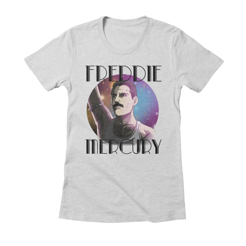 Made In Heaven (Light) Women's Fitted T-Shirt by danburley's Artist Shop