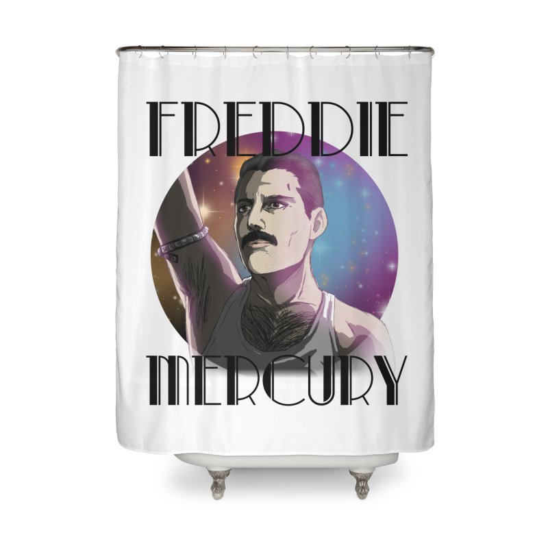 Made In Heaven (Light) Home Shower Curtain by danburley's Artist Shop