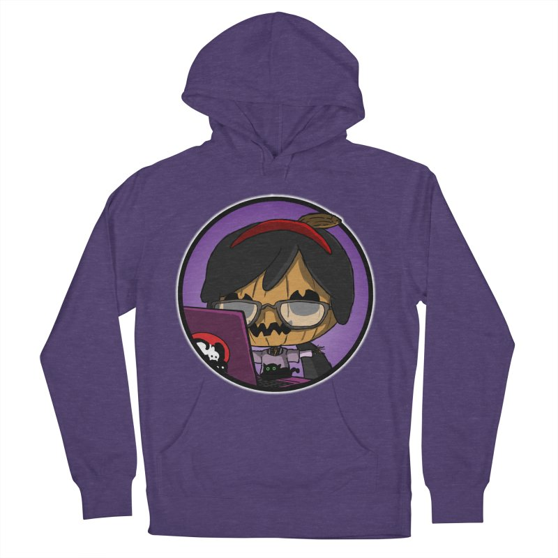 Halloweenie Men's French Terry Pullover Hoody by danburley's Artist Shop