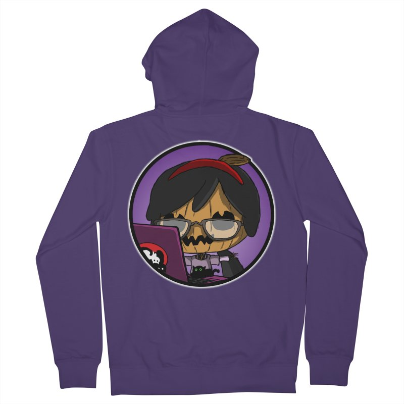 Halloweenie Women's French Terry Zip-Up Hoody by danburley's Artist Shop