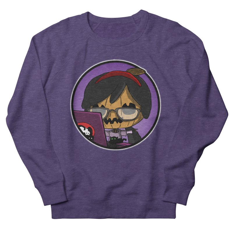 Halloweenie Men's French Terry Sweatshirt by danburley's Artist Shop